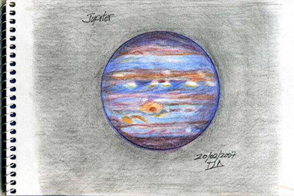 Jupiter by Hand