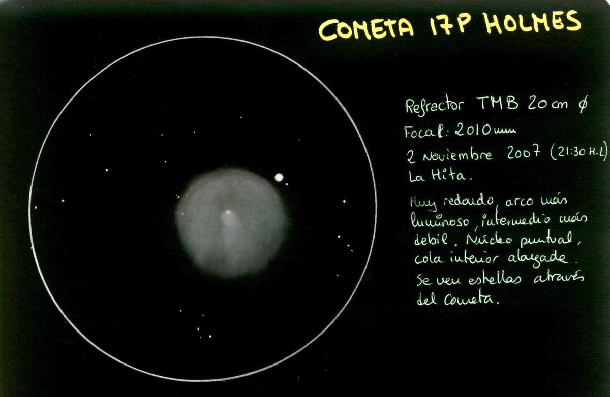 Comet 17/P Holmes 1