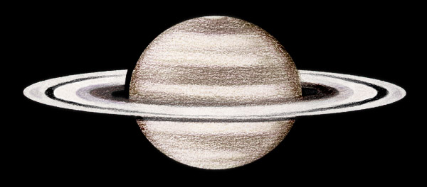 saturn planet drawing history ancient - photo #32