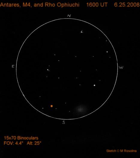 Antares, M4, & Rho Oph