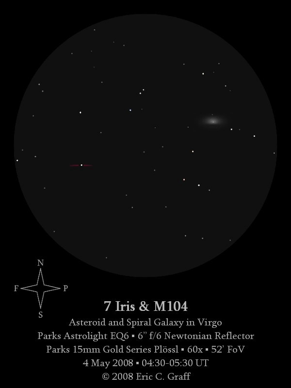 Asteroid and Galaxy