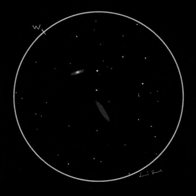 NGC 7332 and NGC 7339