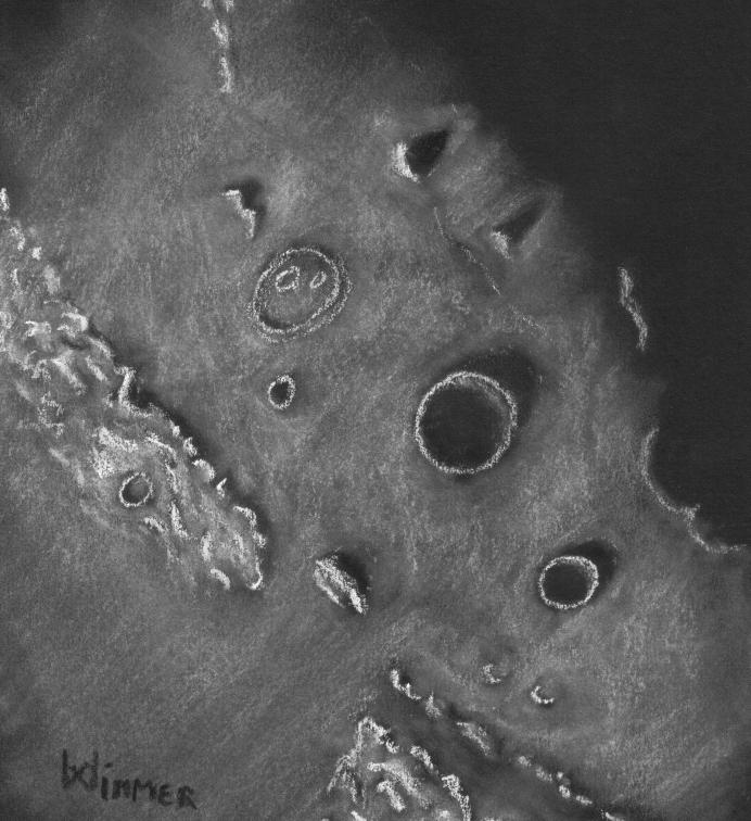 Cassini Aristillus Autolycus Caucasins