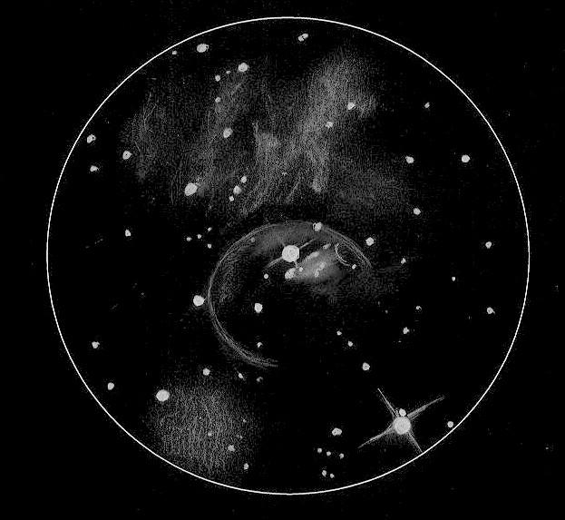 Massive Star Blows a Bubble