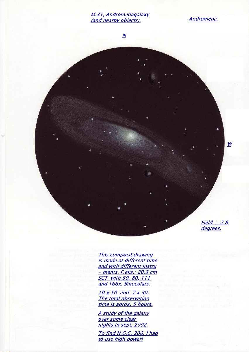 A Study of a Great Galaxy