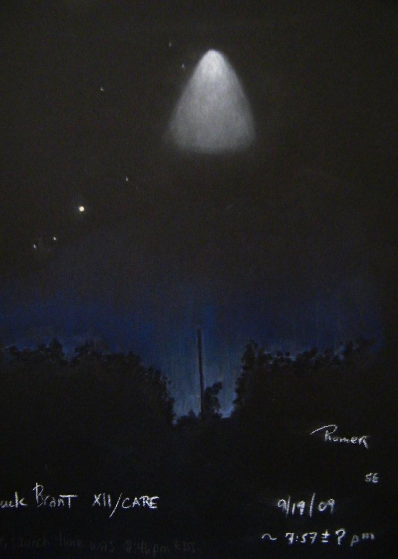 Man Made Noctilucent Cloud