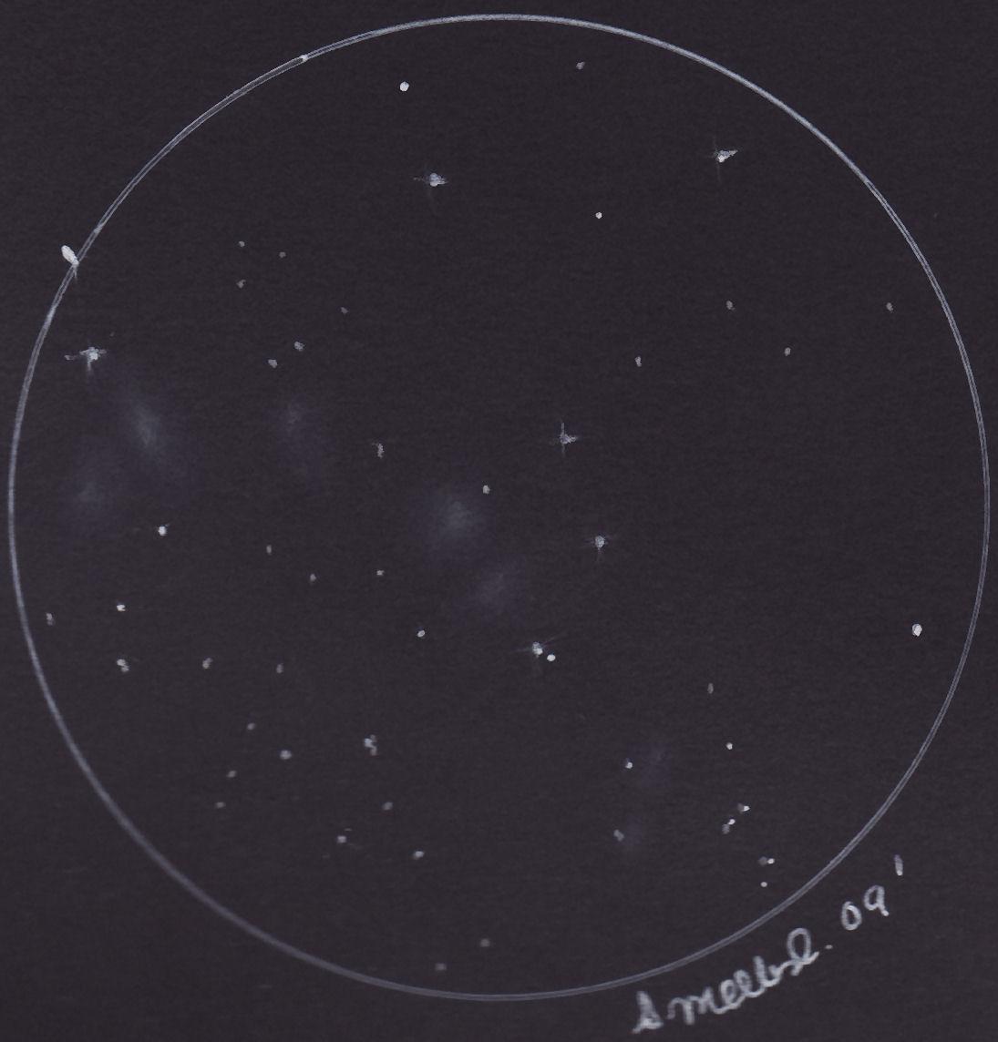 Necklace of Nebulae