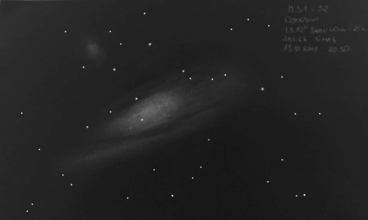 Falling Towards Andromeda U2013 Astronomy Sketch Of The Day
