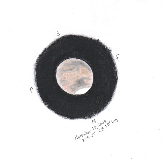 Late November Mars