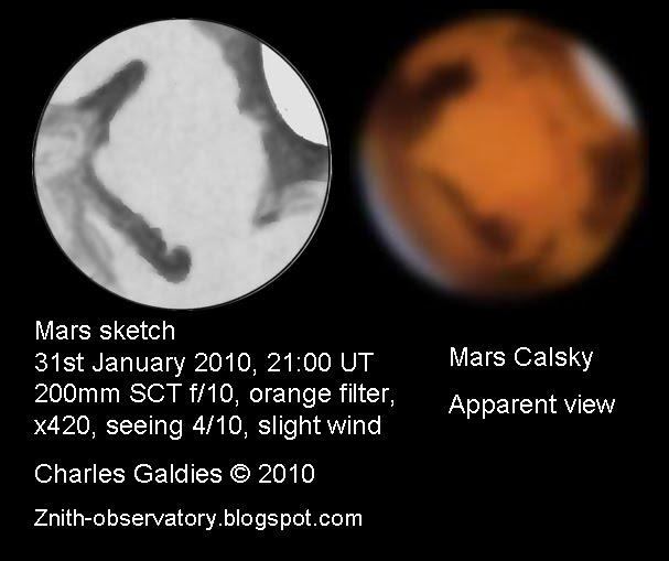 Mars - January 31, 2010