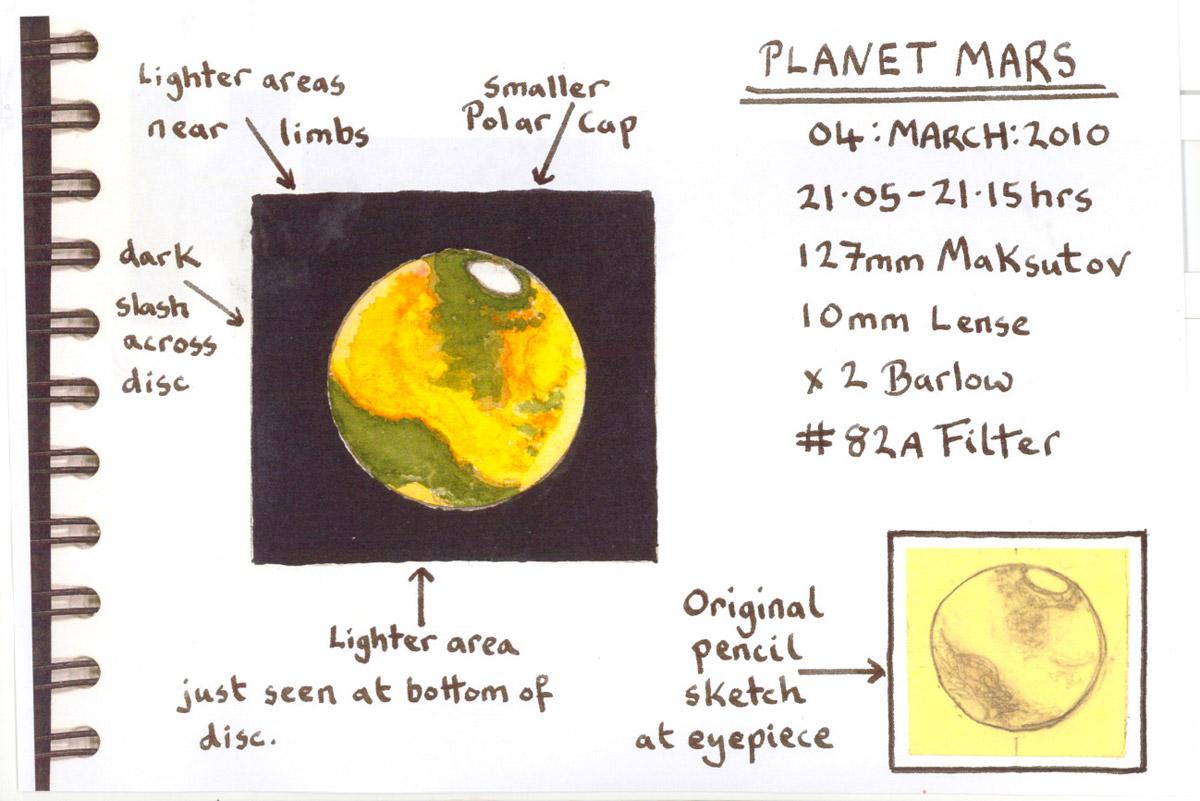 Mars - March 4, 2010