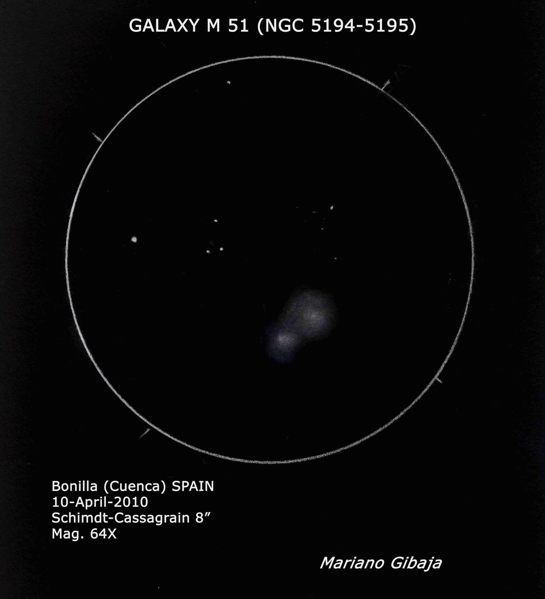 Messier 51 (NGC 5194, 5195)