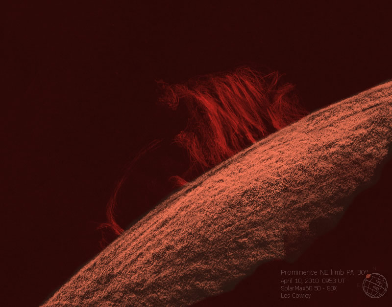 Prominence - April 10, 2010