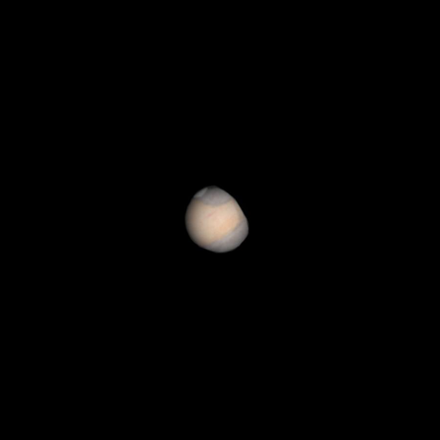 Receding Mars – May 22, 2010