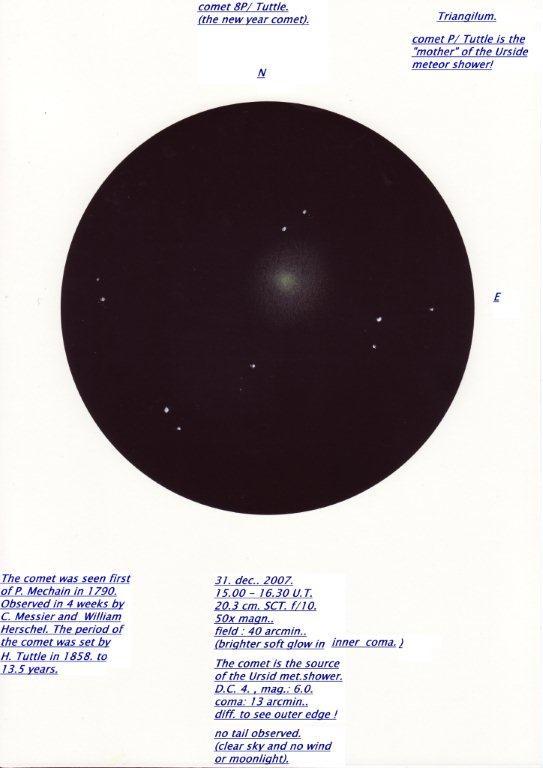 Comet 8P/Tuttle