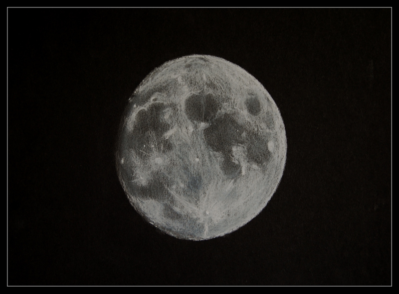 Whole Moon in Pastel
