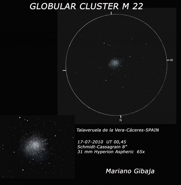 M 22: A Jewel of the Summer