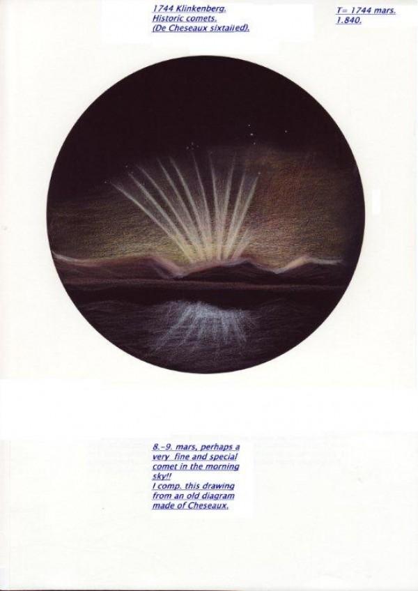 Historic Comet Recreation