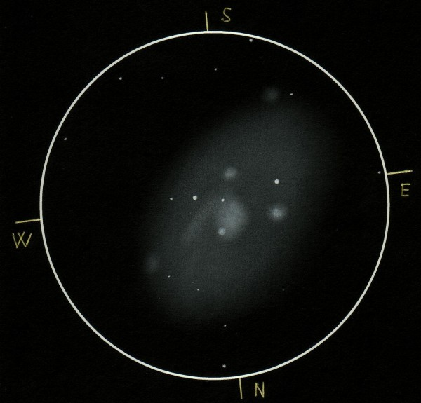 Visual Sketch of NGC 2403