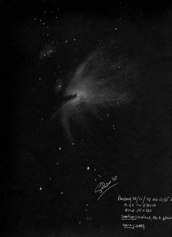 orion nebula through binoculars - photo #24
