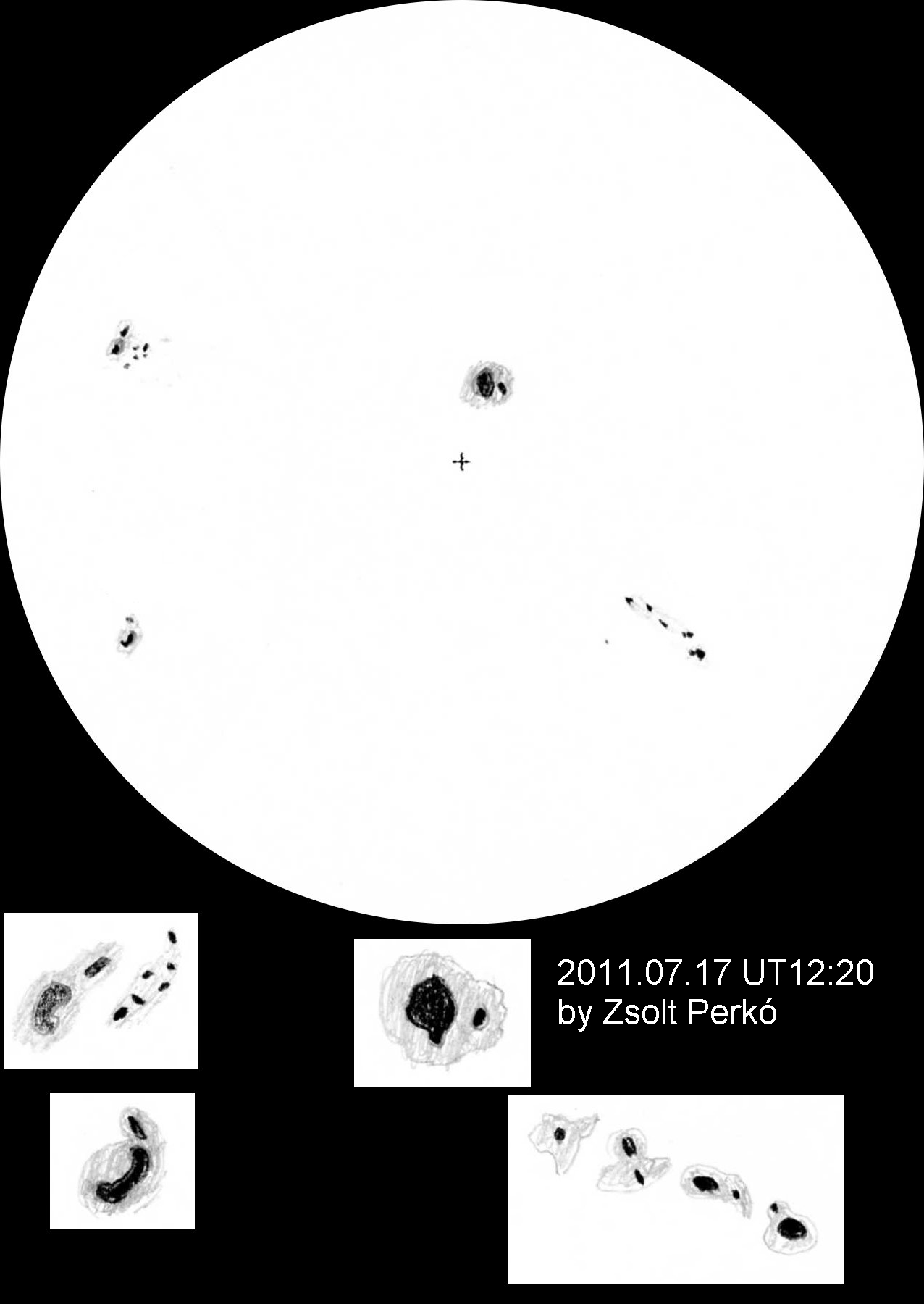 Sunspots - July 17, 2011