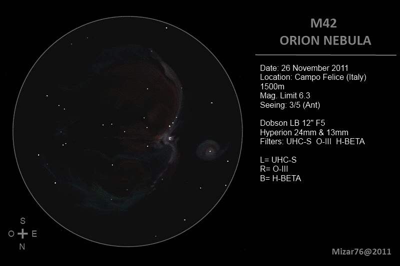 Messier 42 and 43