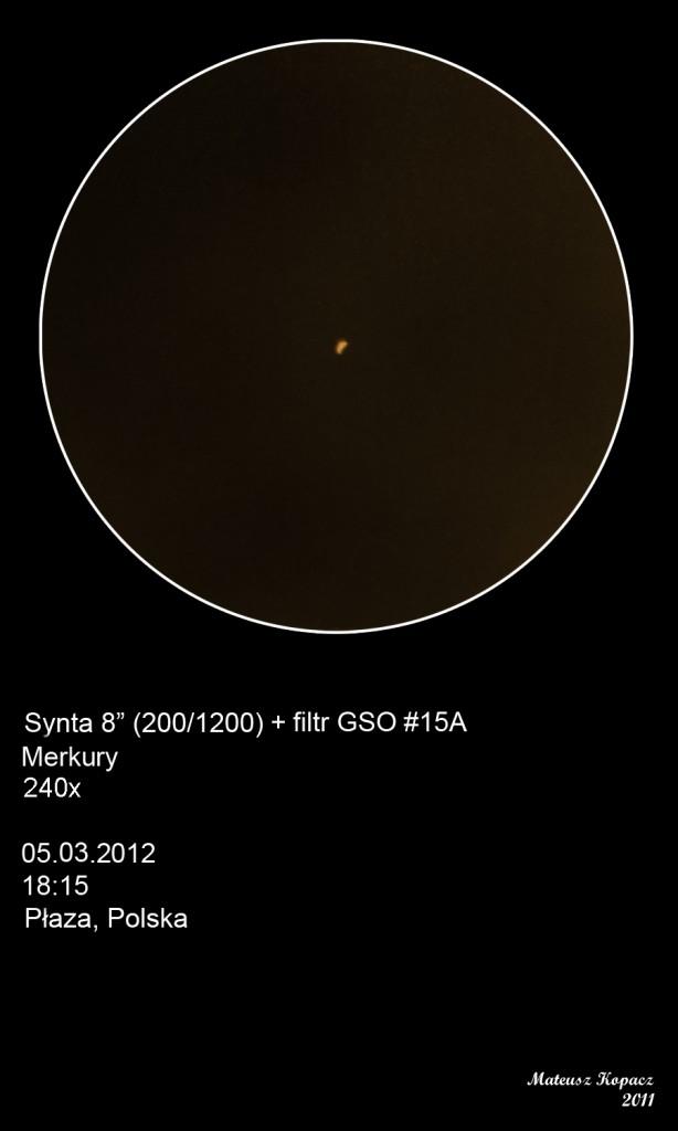 Mercury - March 5, 2012