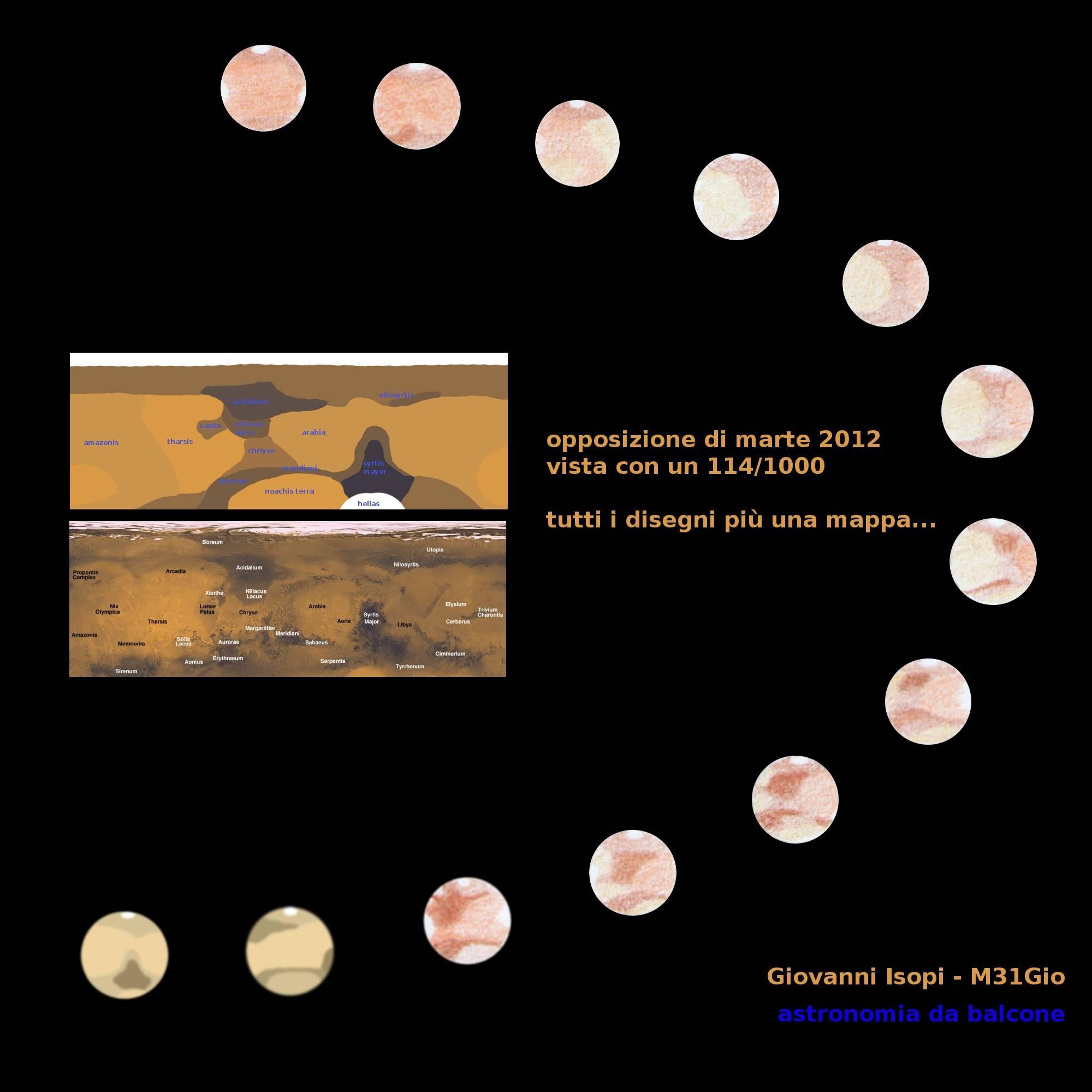 2012 Mars Opposition