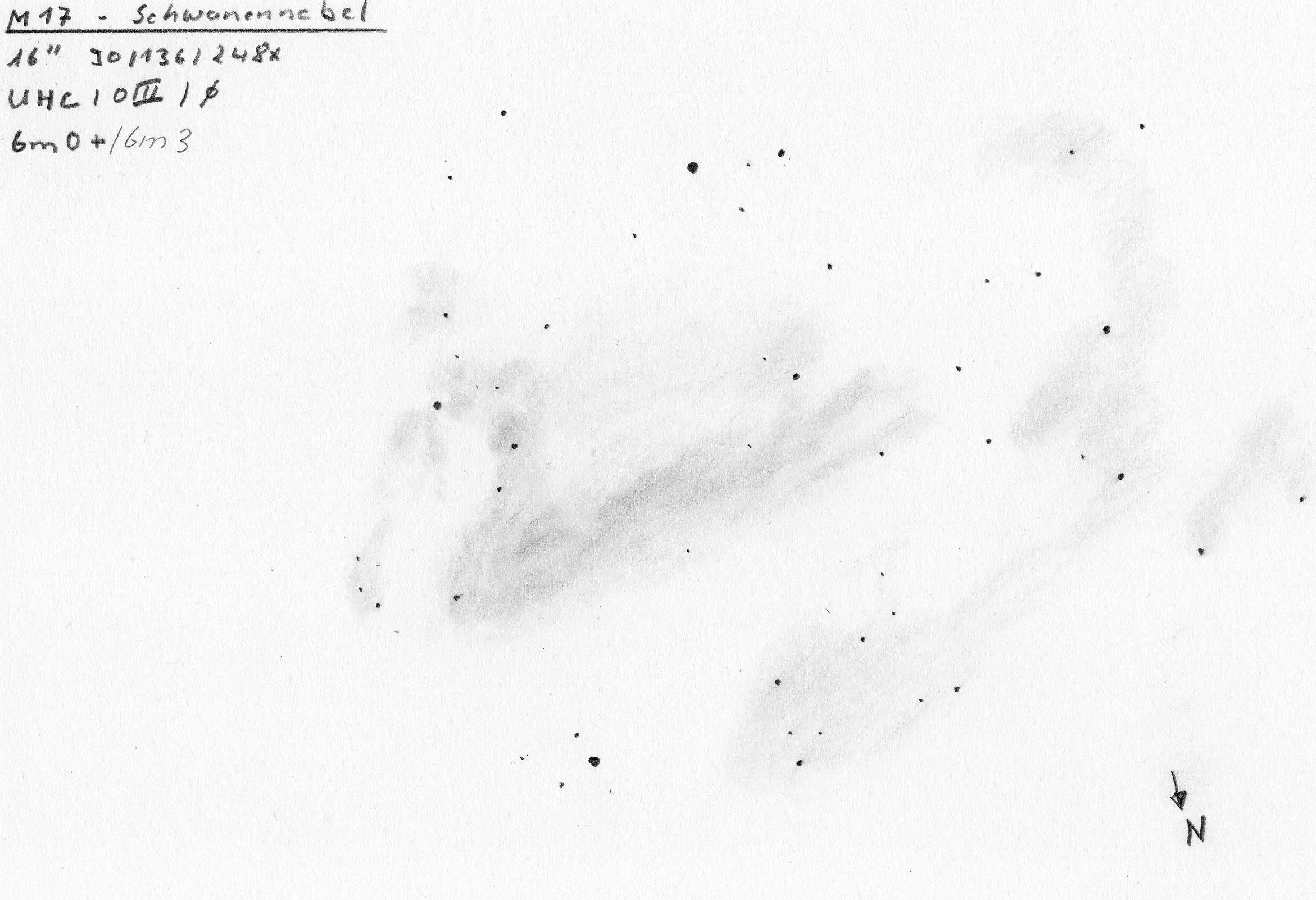 VCSE - Mai kép - Messier 17 - Hans-jürgen Merk