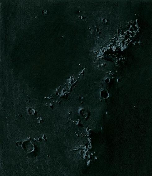 Lunar Terminator - April 28, 2012