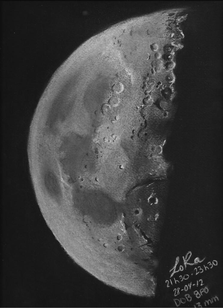 First Quarter Moon - April 28, 2012