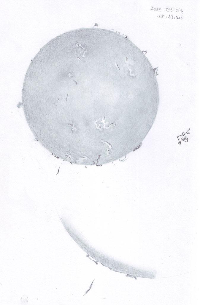 H-Alpha Sun - September 7, 2012