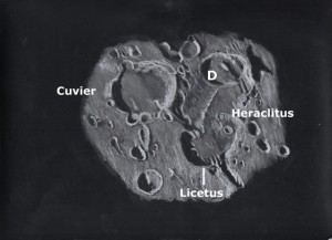 Labeled Crater Heraclitus