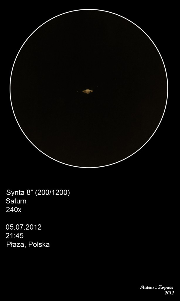 Saturn - July 5, 2012