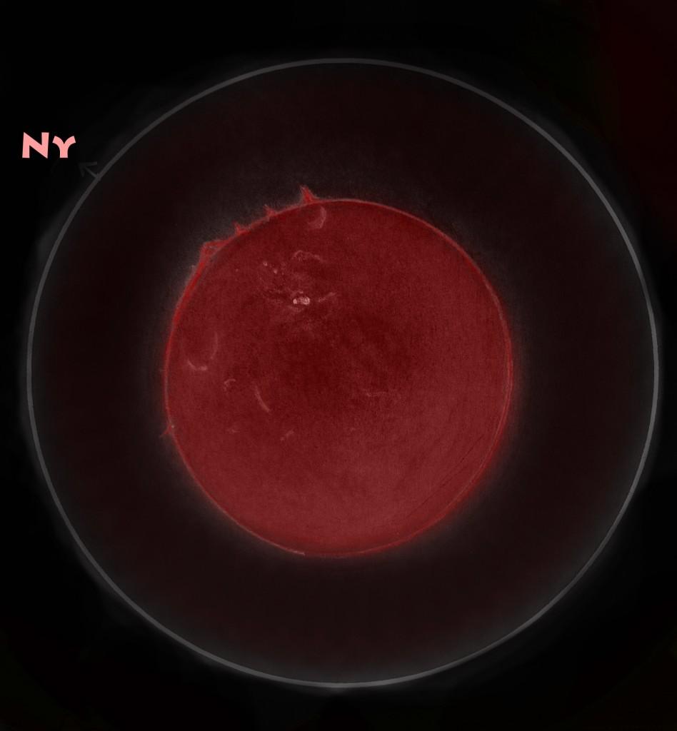H-Alpha Sun - July 14, 2012