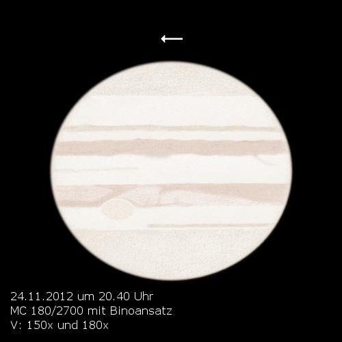 Jupiter - November 24, 2012