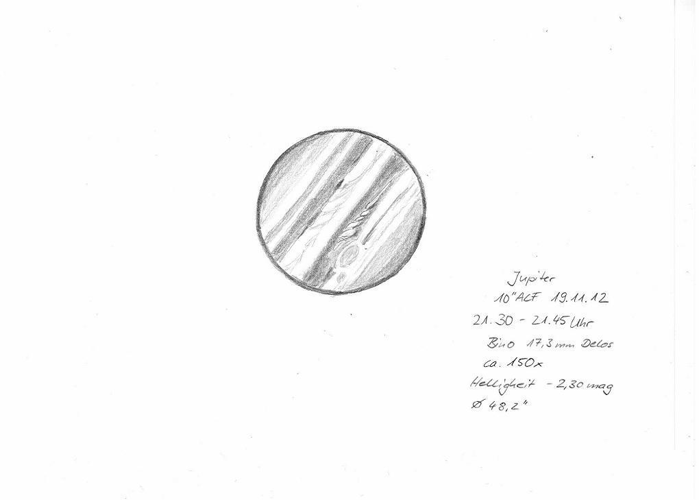 Jupiter - November 19, 2012
