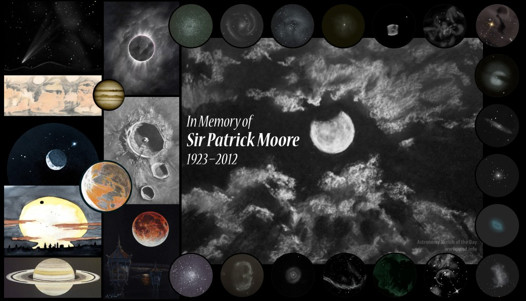 In Memory of Sir Patrick Moore — 1923–2012