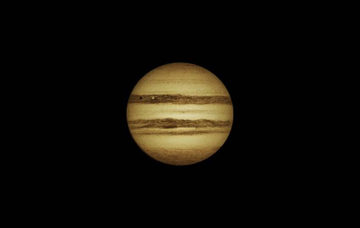 Io Transit of Jupiter - November 18, 2012