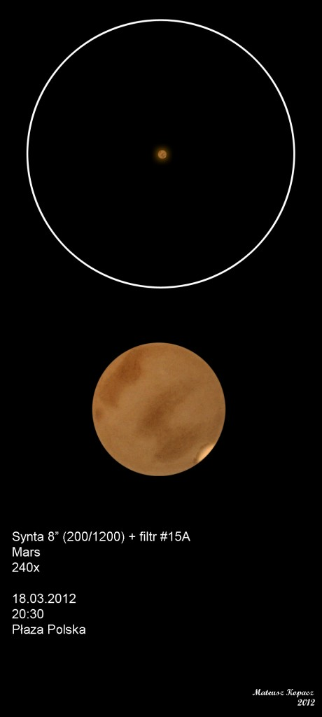 Mars - March 18, 2012