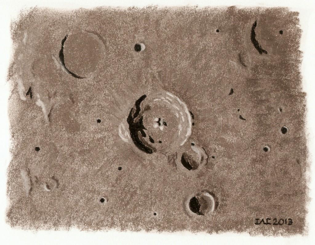 Crater Bullialdus