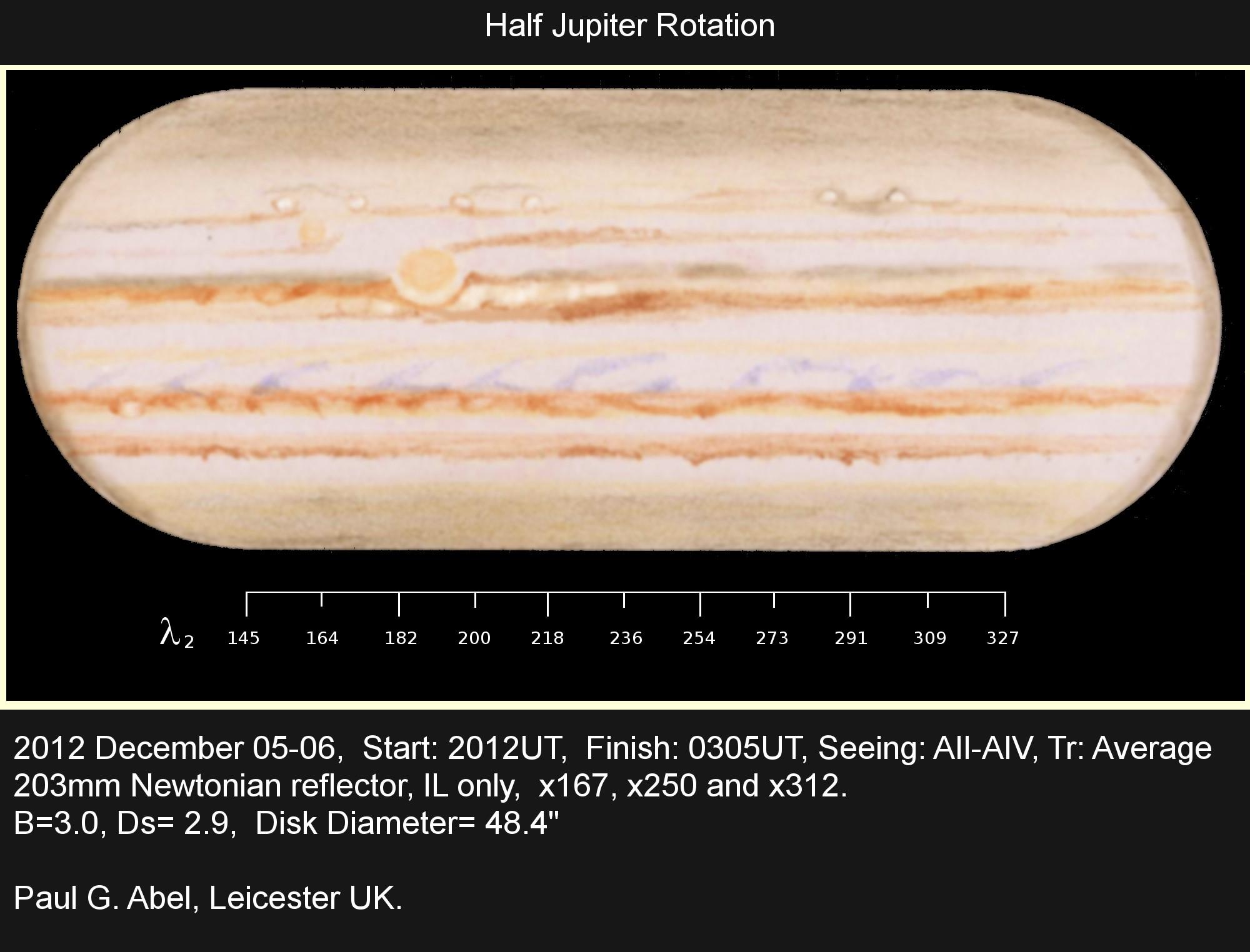 Jupiter - December 5/6, 2012