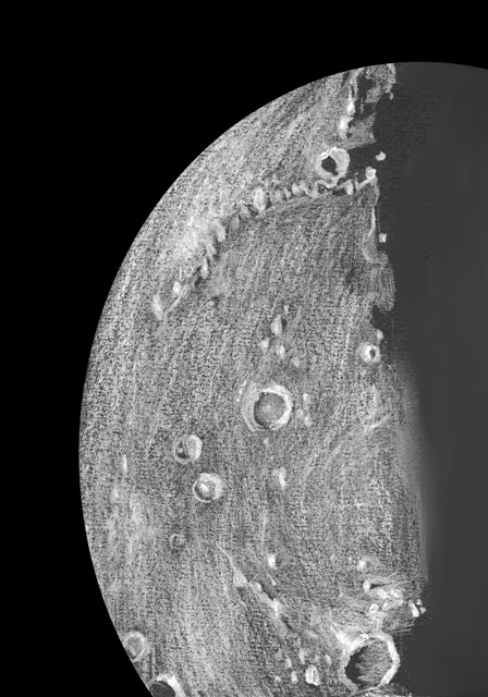 Lunar Terminator - August 25, 2012