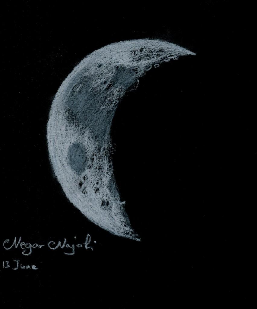 Crescent Moon - June 13, 2013