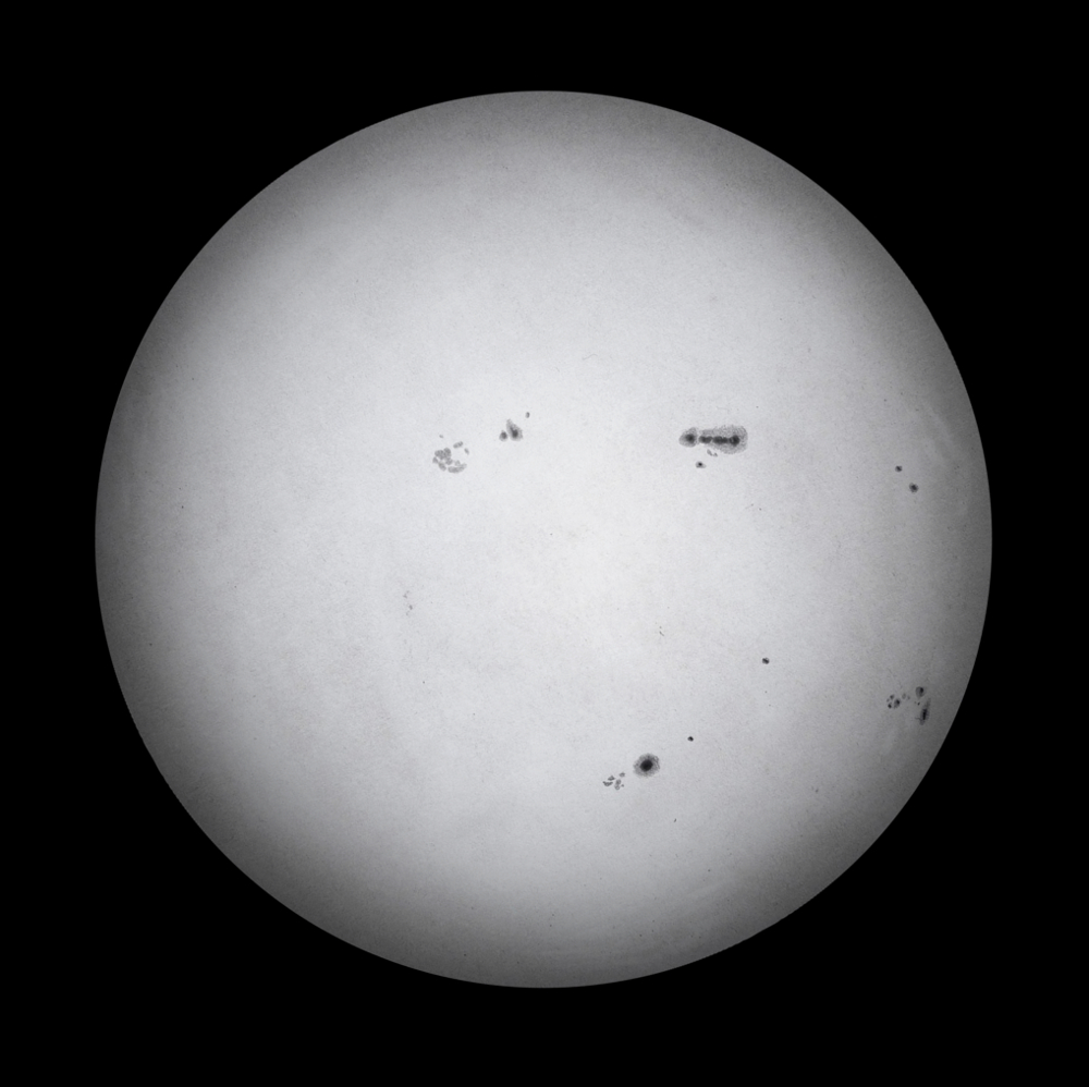White Light Sun - May 19, 2013