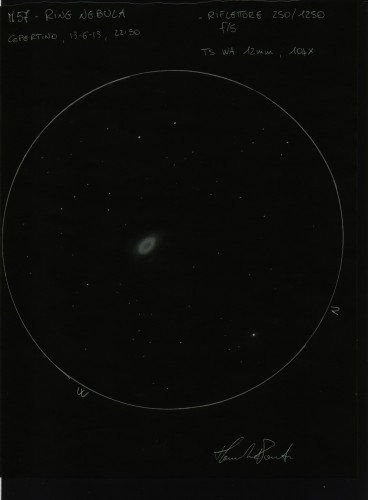 sketch ring nebula - photo #3
