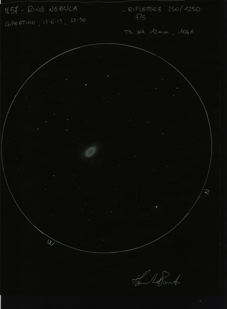 sketch ring nebula - photo #4