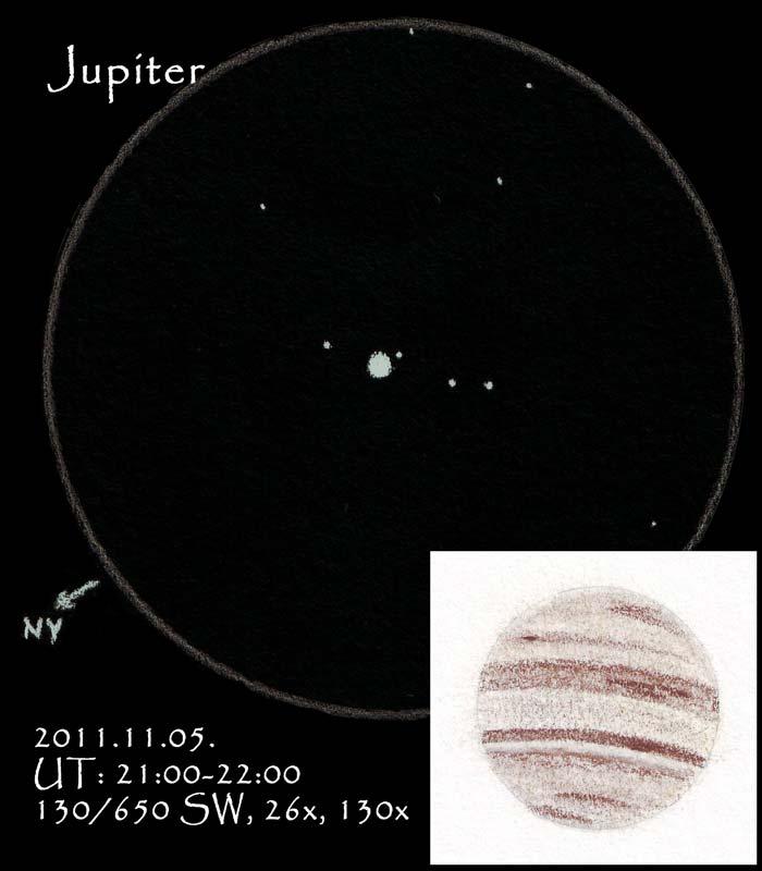 Jupiter - November 4, 2011