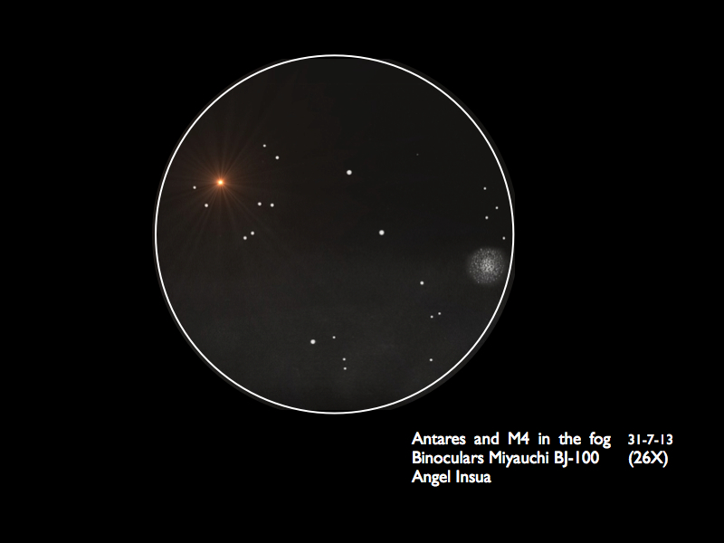 Antares and Messier 4