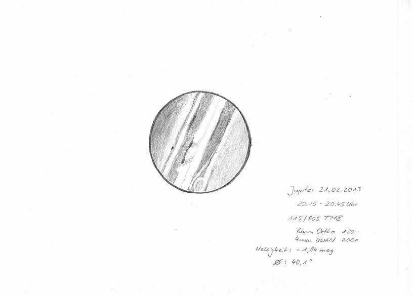 Jupiter - February 21, 2013